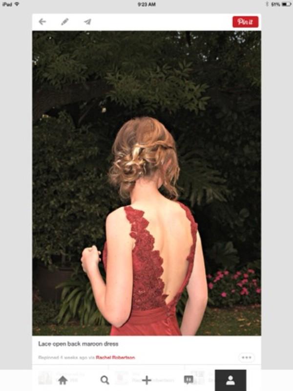 dress prom dress long prom dress red dress