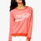 Enjoy coca-cola® sweatshirt | forever21 - 2040494851