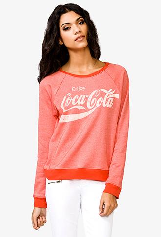 Enjoy Coca-Cola® Sweatshirt   FOREVER21 - 2040494851