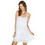 WHITE CHIFFON STRAP LAYERS DRESS / back order – HolyPink