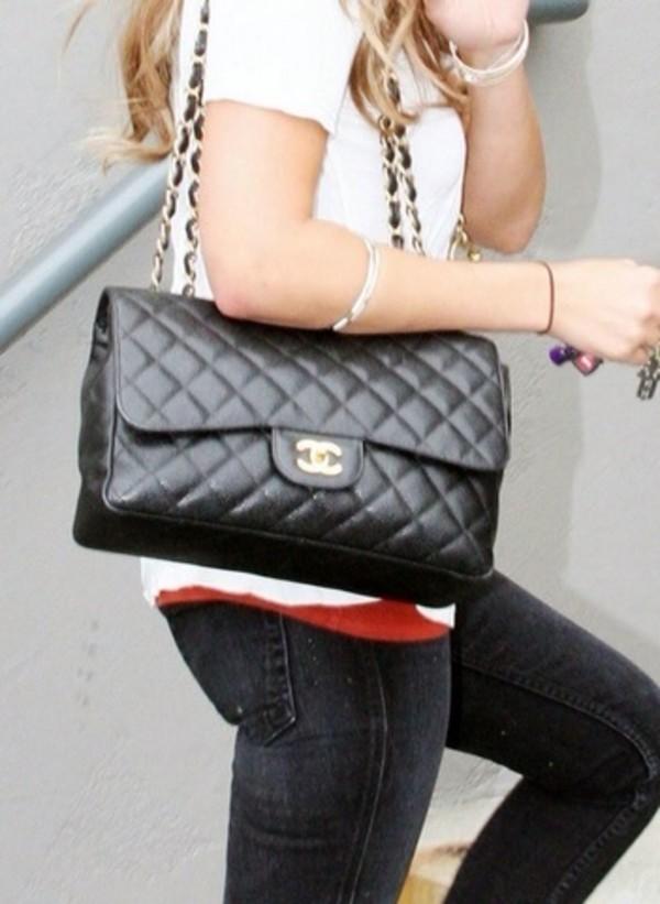 bag chanel live love handbag black girl girly beautiful purse chanel fashion