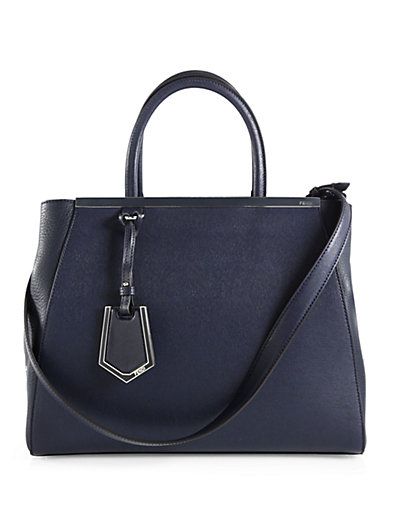 Fendi - 2Jours Medium Mixed-Media Shopper - Saks.com