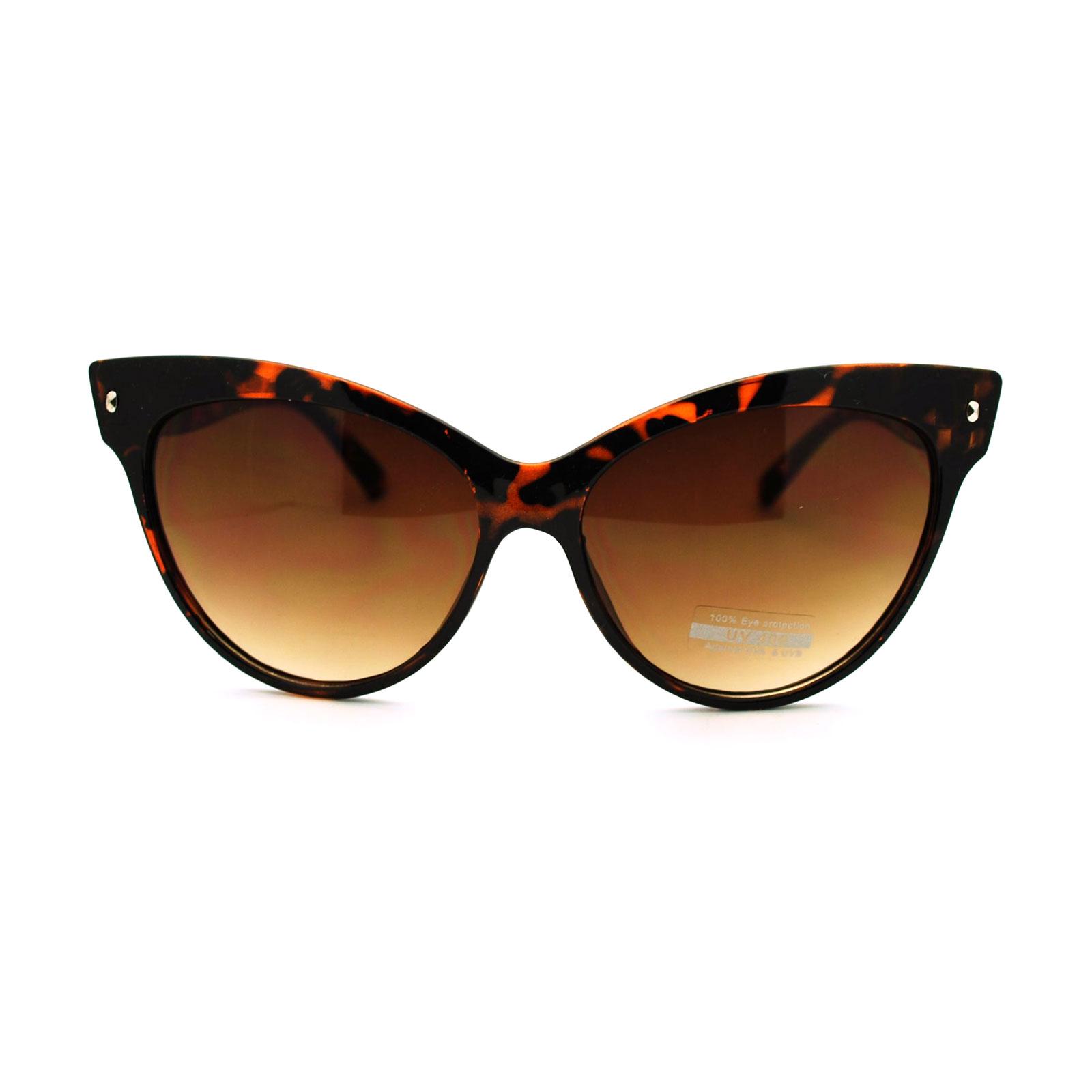 Trendy Girly Oversized Cat Eye Sunglasses | eBay