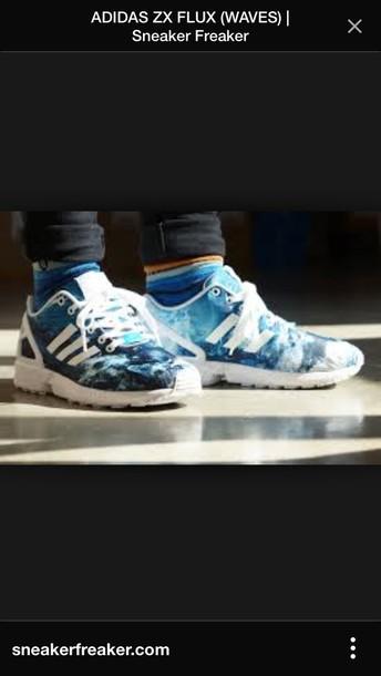 shoes adidas zx flux