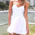 Free shipping women summer dress white vestidos de festa beach-in Dresses from Apparel & Accessories on Aliexpress.com