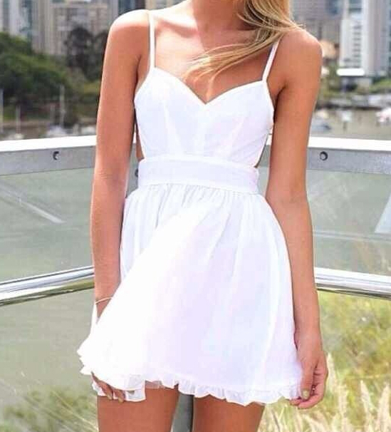 Free shipping women summer dress white vestidos de festa beach-in Dresses from Apparel & Accessories on Aliexpress.com