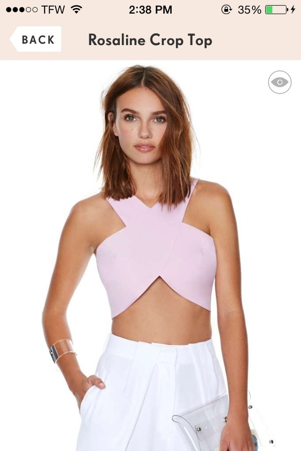 blouse crop tops