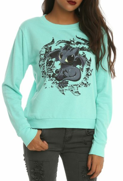 sweater how to train your dragon toothless top