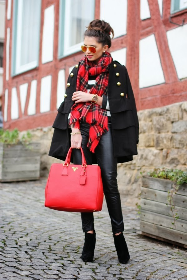 fashionhippieloves coat sweater pants shoes bag sunglasses jewels scarf