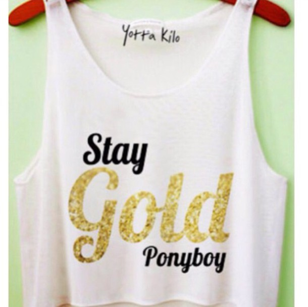 top the outsides stay gold yotta kilo crop tops white crop tops white top