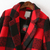 Black Red Plaid Lapel Long Sleeve Pockets Coat - Sheinside.com