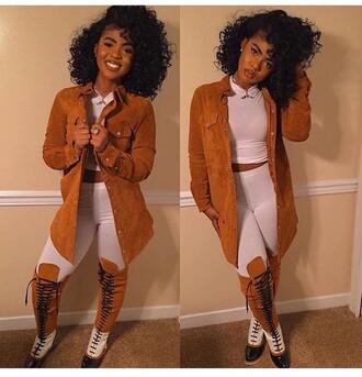 jacket cardigan suede fashion toast fashion vibe fashion is a playground fashion fashion coolture fashionista fashion week 2016