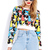 Mickey Faces Cropped Sweatshirt | FOREVER21 - 2031557840