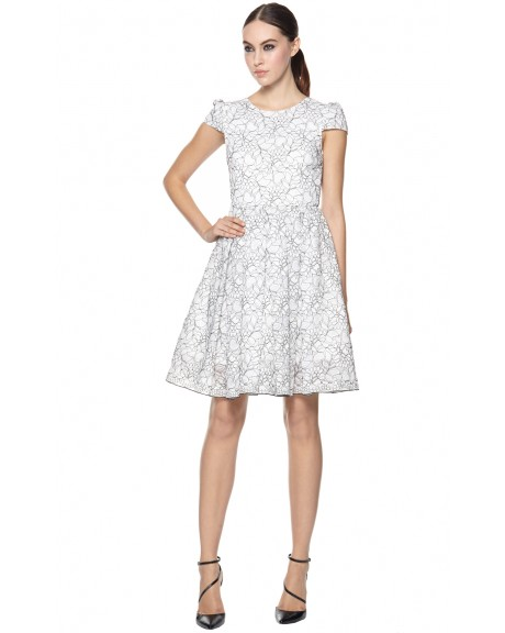 Aubree Cap Sleeve Dress | Dresses | Alice   Olivia
