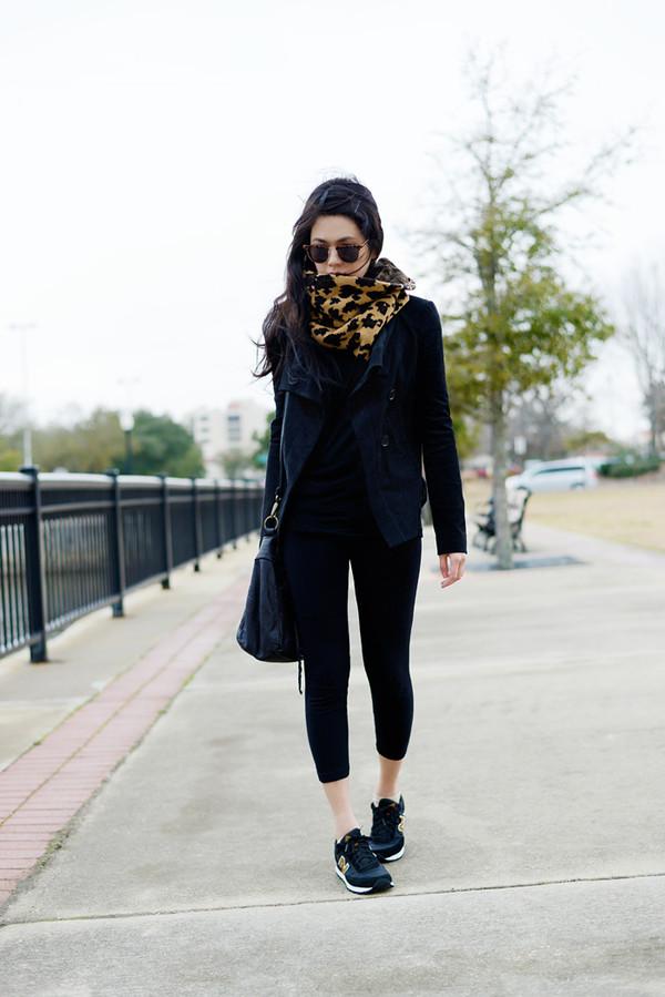 behind the seams shirt sunglasses jacket bag shoes