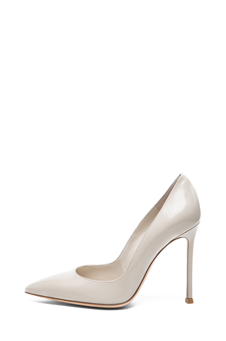Gianvito Rossi|Leather Pump in Shell