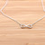 girlsluv.it - simple INFINITY necklace, 2 colors
