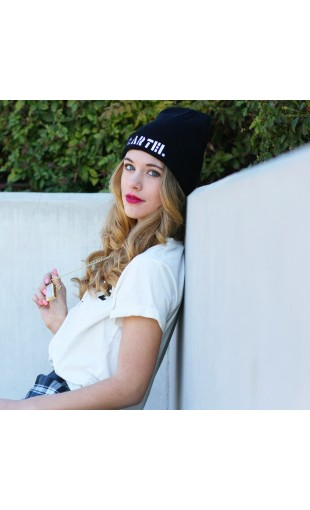 SIGNATURE CARTEL BABE BEANIE | JOIN THE CARTEL | MUSTARDCARTEL.COM