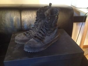 Ann DEMEULEMEESTER High Top Sz40 Used by Kanye West | eBay