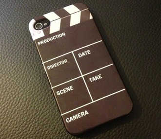 phone cover clapboard movie pretty cute phone cover director film fashion hipster