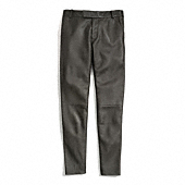Coach :: LEATHER CIGARETTE TROUSER