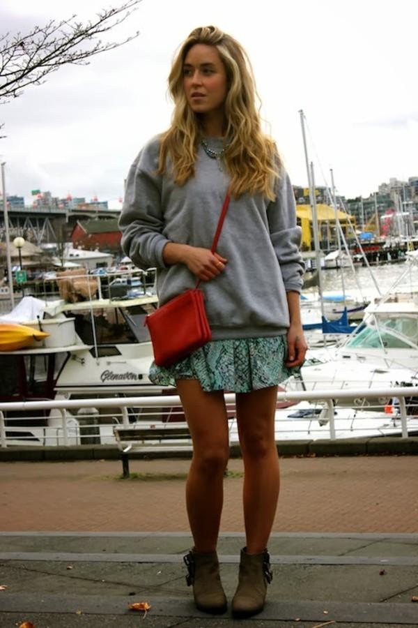 a fashion love affair sweater dress jewels bag shoes