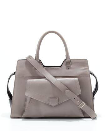 Proenza Schouler PS11 Wristlet Clutch Bag, Black