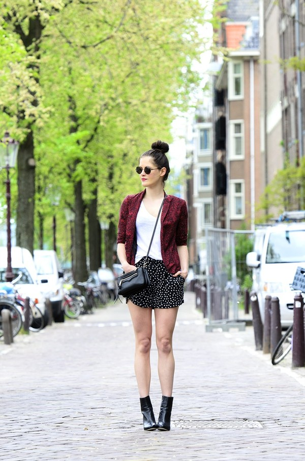 fashion fillers jacket shorts t-shirt bag shoes sunglasses