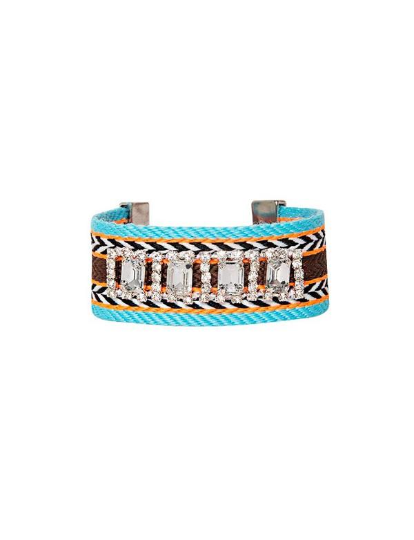 jewels tribal bracelet rhinestone bracelet cute jewelry pixie market pixie market girl