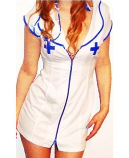 nurse dress blue blue nurse sexy fancy dress