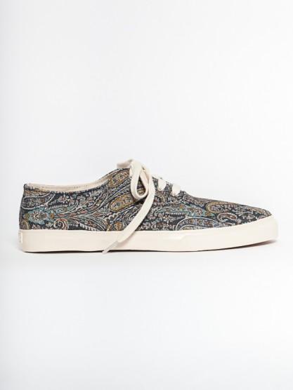 YMC - Men's Lace Up Shoe- Paisley at Gargyle