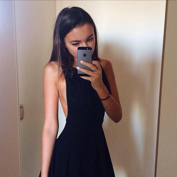 dress black dress cut-out dress style little black dress sexy fit and flare cute little black dress sexy dress short dress sexy dress cute dress black slim party dress