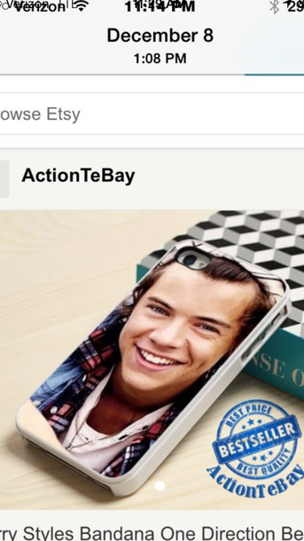 phone cover harry styles
