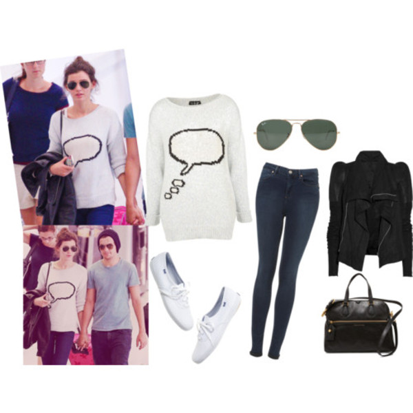sweater louis tomlinson`s girlfriend eleanor calder sunglasses jacket jeans purse shoes louis tomlinson bag
