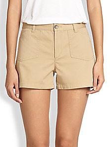 A.P.C. - Cotton Shorts - Saks Fifth Avenue Mobile