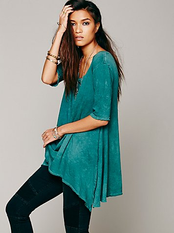Free People  Melrose Swing Tee at Free People Clothing Boutique