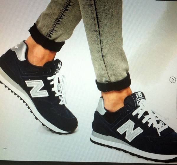 shoes new balance blue sneakers