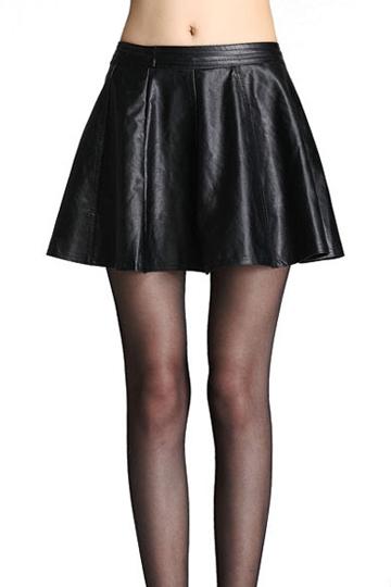 High Street PU Leather Mini Skirt [FMCC0195]- US$20.99 - PersunMall.com