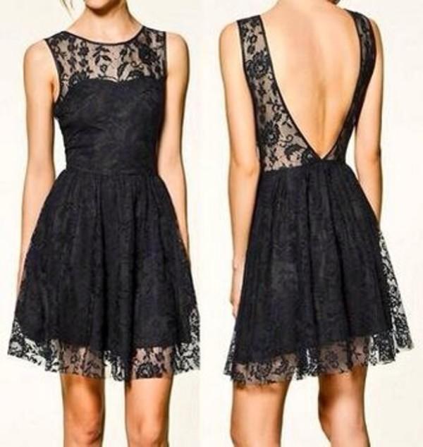 dress little black dress beautiful black