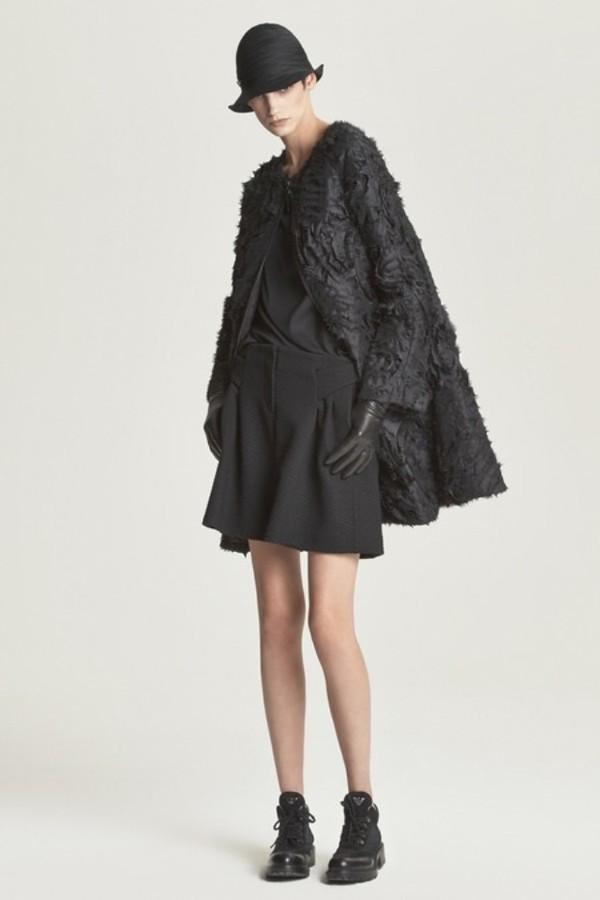 jacket black flower jacket