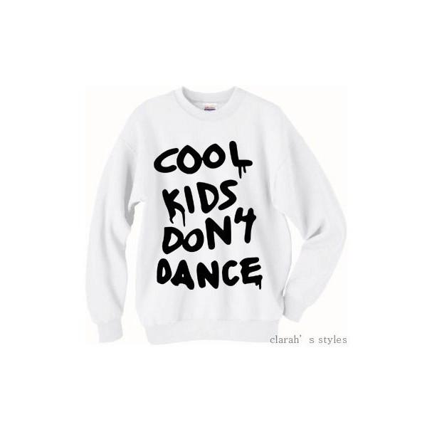Cool Kids Don't Dance Zayn Malik Pull Over Sweater Crew Neck - Polyvore