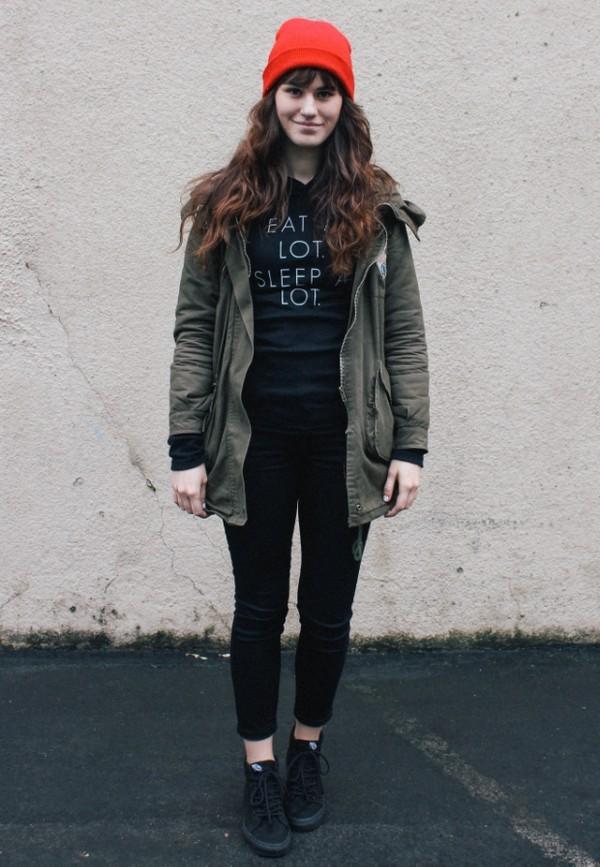 the mop top sweater coat pants shoes