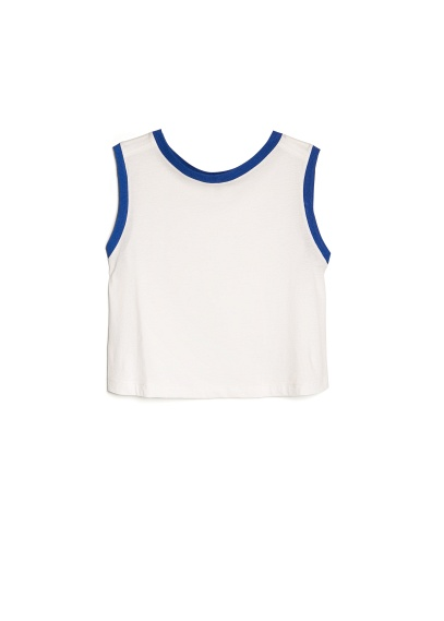 cotton cropped top