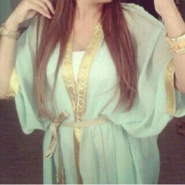dress takchita dress blue