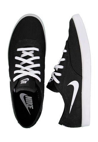 shoes nike sneakers black white starletsaddle low