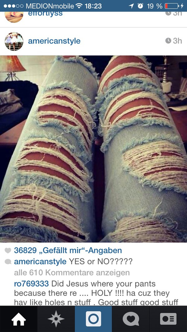 jeans cropped ripped acid wash denim