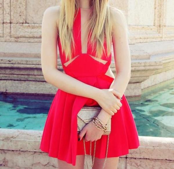dress little black dress red dress