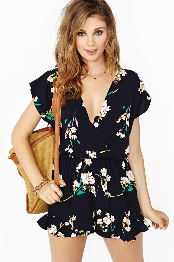 Sweet Afternoon Romper   Shop Clothes at Nasty Gal