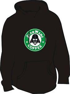 Star Wars Vader Coffee Hoodie (Starbucks Spoof/Funny/Geek)   eBay