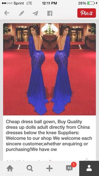 dress blue dress prom dress prom gown lace dress long blue dress long lace dresses open back prom dress